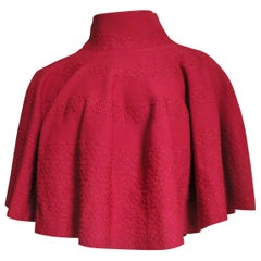 Alaia Sweater Cape Poncho