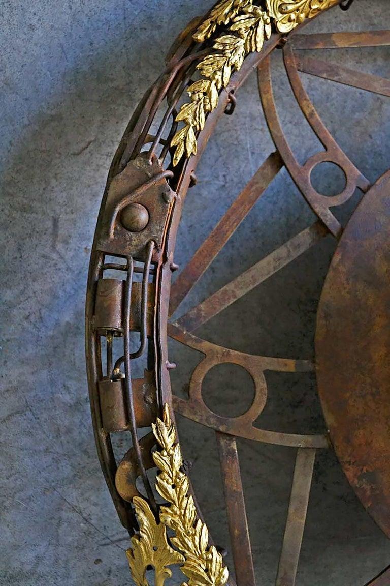 Aeternum Ex-Machina - Skull Bronze Wall Sculpture - Unique Piece For Sale 5