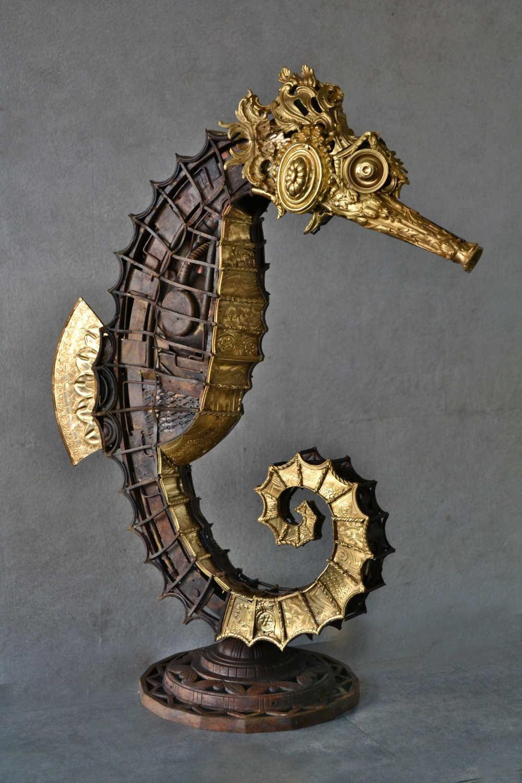 Hippocampus Ex-Machina - Bronze Unique Piece