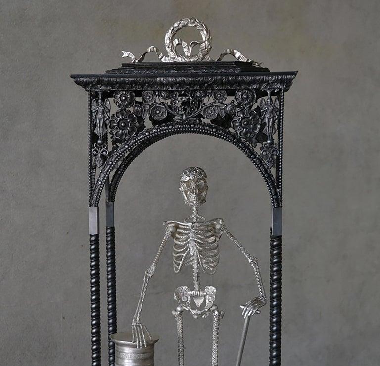 Memento Mori - Bronze Unique Sculpture  For Sale 2