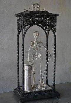 Memento Mori - Bronze Unique Sculpture