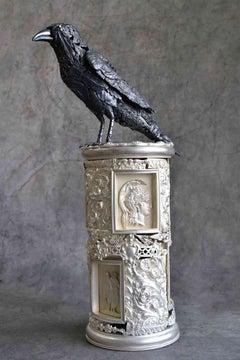 Raven - Bronze Unique Sculpture