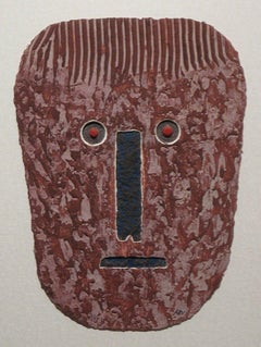 Tribal Mask Print