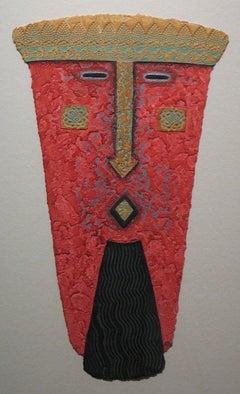 "Tribal Mask Print ""Patriarch"""