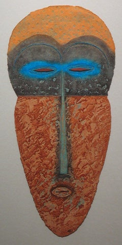"Tribal Mask Print ""The Spirit of Nefertiti"""