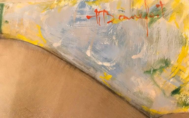 Daisy - Realist Painting by Alain Bonnefoit
