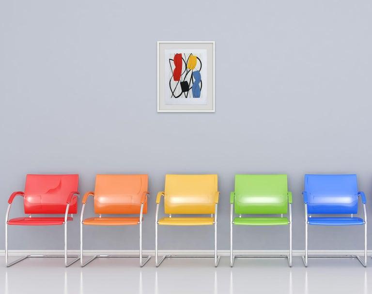 13F3G-2013 (Abstract print) - Print by  Alain Clément