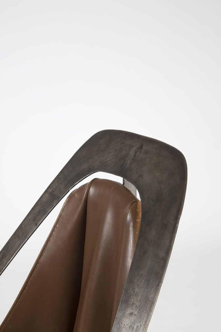 Alain Douillard, Chair, circa 1970 In Good Condition For Sale In New York, NY