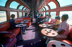 ' Amtrak Dining Car 1979 ' Oversize Limited Edition Archival Pigment Print