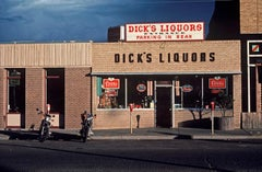 ' Bikers Bar ' Oversize Limited Edition Archival Pigment Print