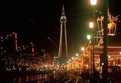 ' Blackpool Illuminations ' Oversize Limited Edition Archival Pigment Print