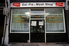 ' Eel Pie and Mash London 1972 ' Limited Edition Archival Pigment Print