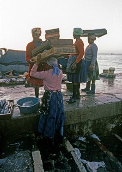 ' Lisbon Fish Market ' 1984 Limited Edition Archival Pigment Print