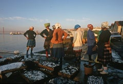 ' Lisbon Fisherwomen ' 1984 Limited Edition Archival Pigment Print