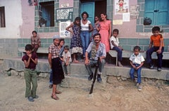 ' Militia On Steps ' 1981 Limited Edition Archival Pigment Print