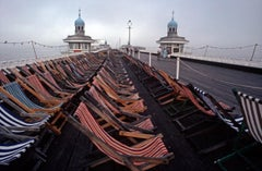 ' Morning Deckchairs ' 1981  Limited Edition Archival Pigment Print