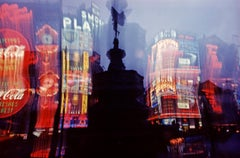 ' Piccadilly Lights ' 1972 Limited Edition Archival Pigment Print