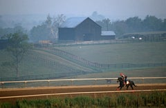 ' Racehorse Exercise ' 1984 Limited Edition Archival Pigment Print