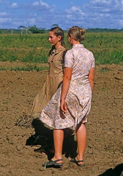'Field Girls' Oversize Limited Edition Archival Pigment Print