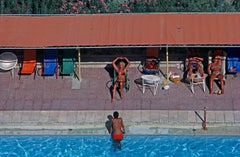 'Poolside' Limited Edition Oversize Archival Pigment Print