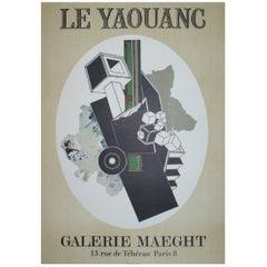 Alain Le Yaouanc Original Vintage Poster