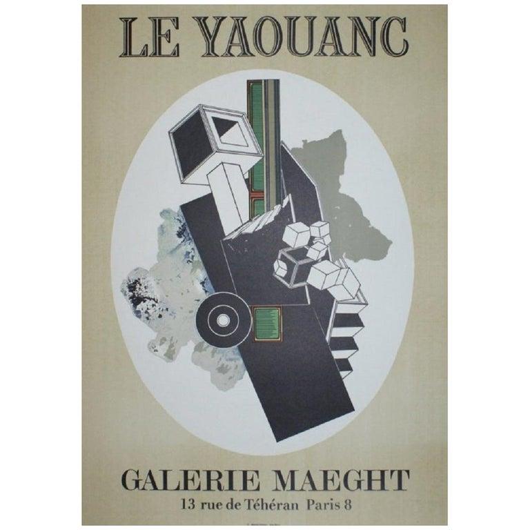 Alain Le Yaouanc Original Vintage Poster For Sale