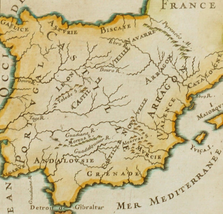 Antique Map of Spain 2