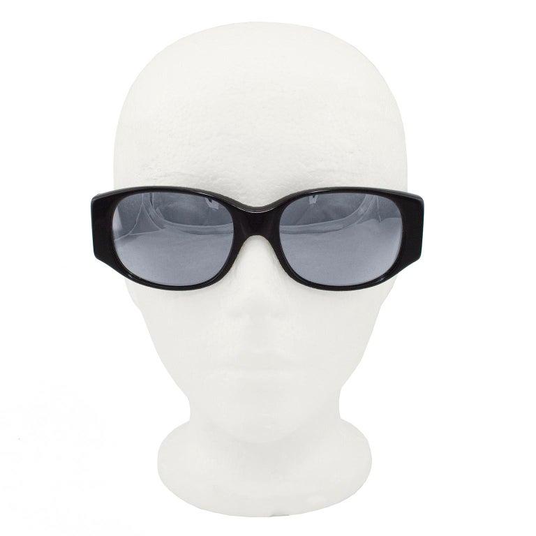 Women's or Men's Alain Mikli Black Sunglasses with Mirror Lenses For Sale
