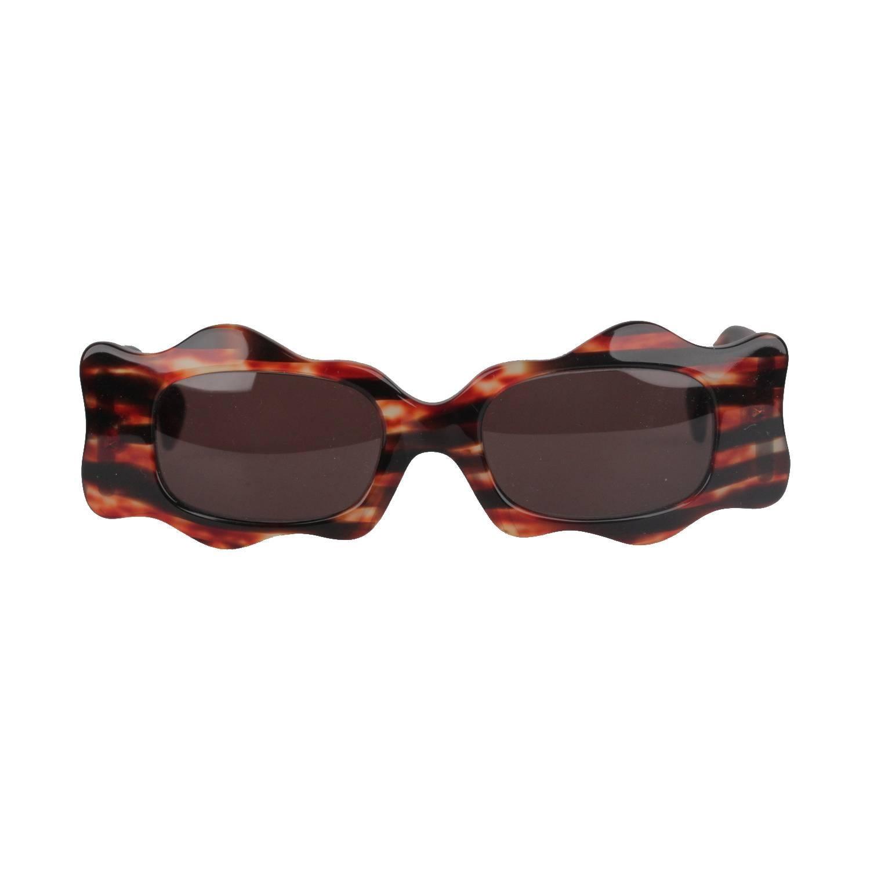 753510bc0b2b5 ALAIN MIKLI Paris Vintage Brown Women Sunglasses mod. 5008 1000 NOS For  Sale at 1stdibs