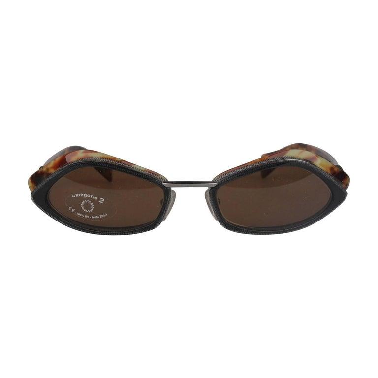 ALAIN MIKLI Paris Vintage Sunglasses A0227-04 55-20mm New Old Stock