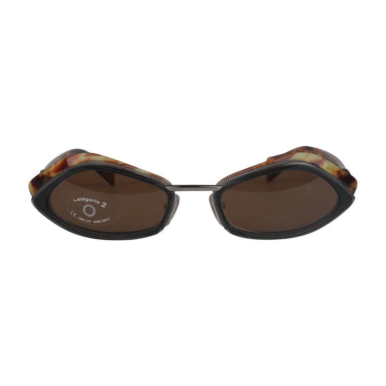 2f64f4a0bf1 Alain Mikli Paris Vintage Sunglasses A0227-04 55mm New Old Stock For Sale  at 1stdibs