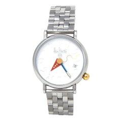 Alain Silberstein Arkitek Stainless Steel Automatic Men's Watch 2892/2