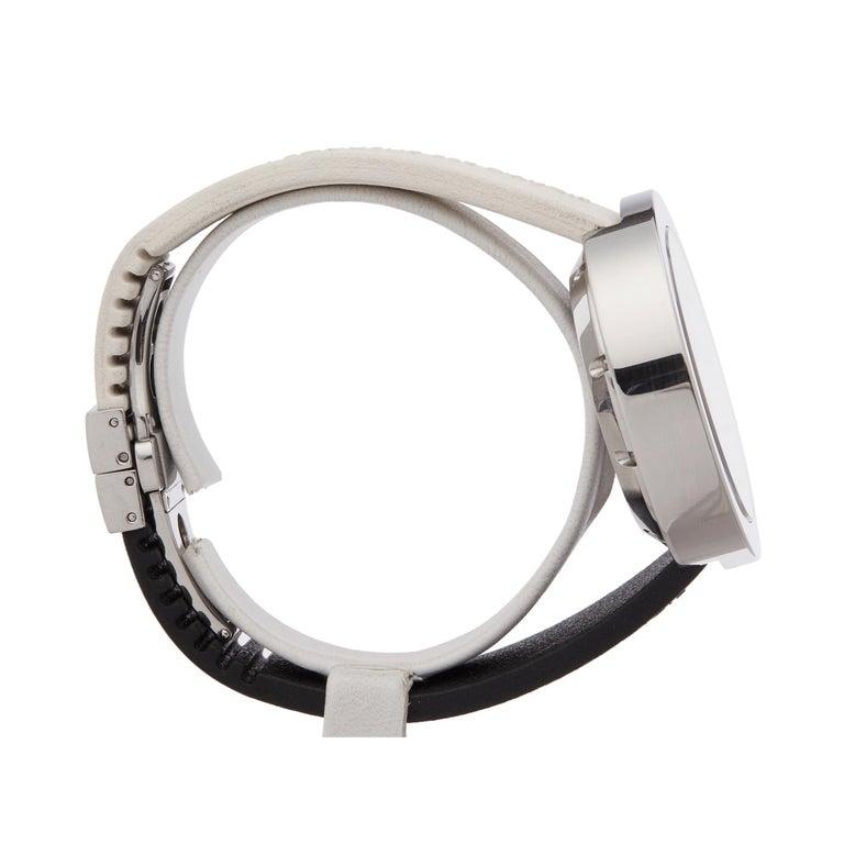 Alain Silberstein Rondo Krono Stainless Steel Chronograph Wristwatch For Sale 1