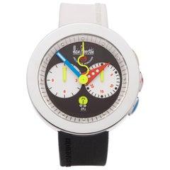 Alain Silberstein Rondo Krono Stainless Steel Chronograph Wristwatch