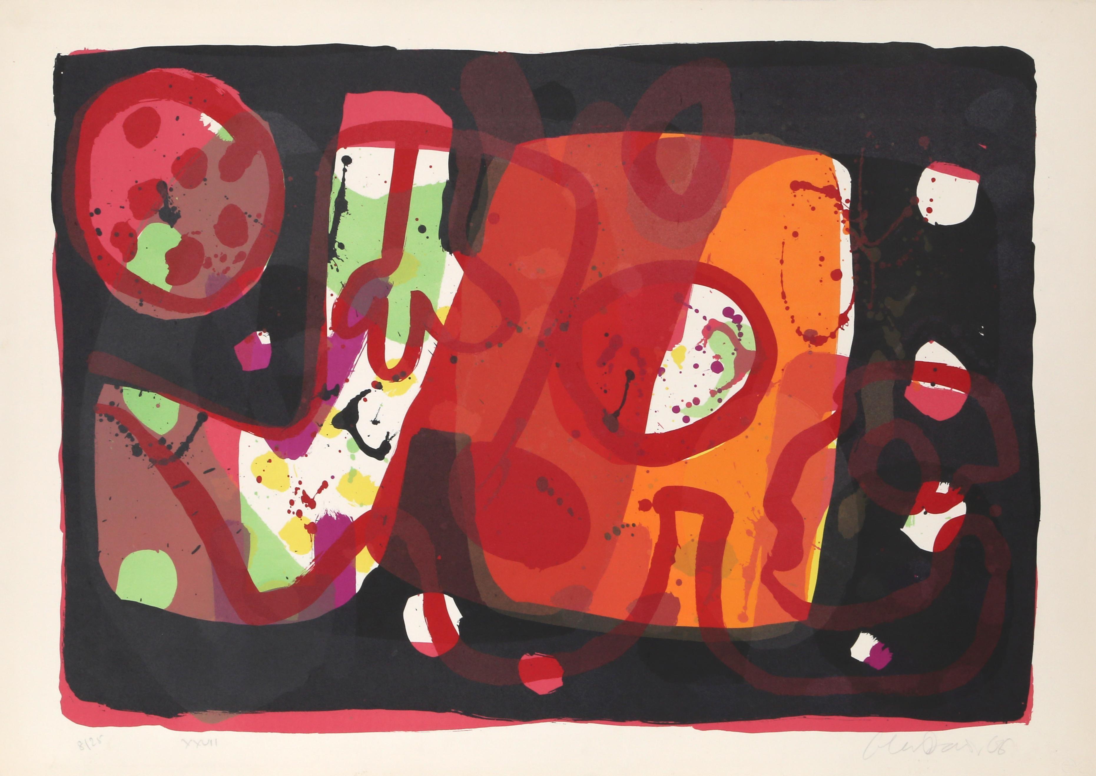 """""""Zurich Improvisation XXVII"""", 1968, Alan Davie"""