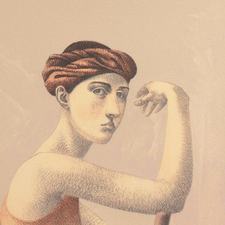 'Two Dancers', Yale, Cooper Union, Prix de Rome, Tyler School of Art, Assisi For Sale 3