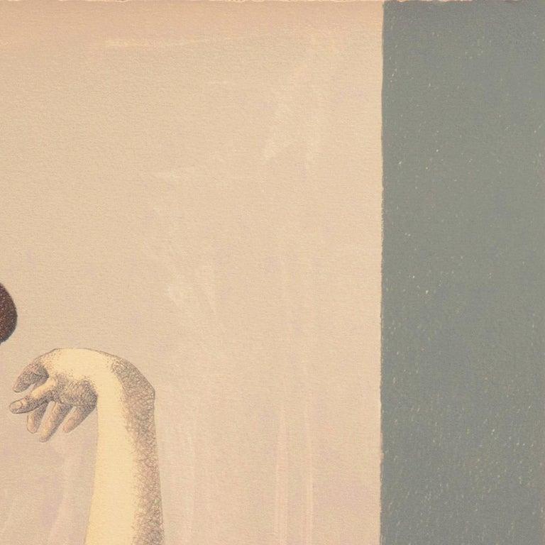 'Two Dancers', Yale, Cooper Union, Prix de Rome, Tyler School of Art, Assisi For Sale 4