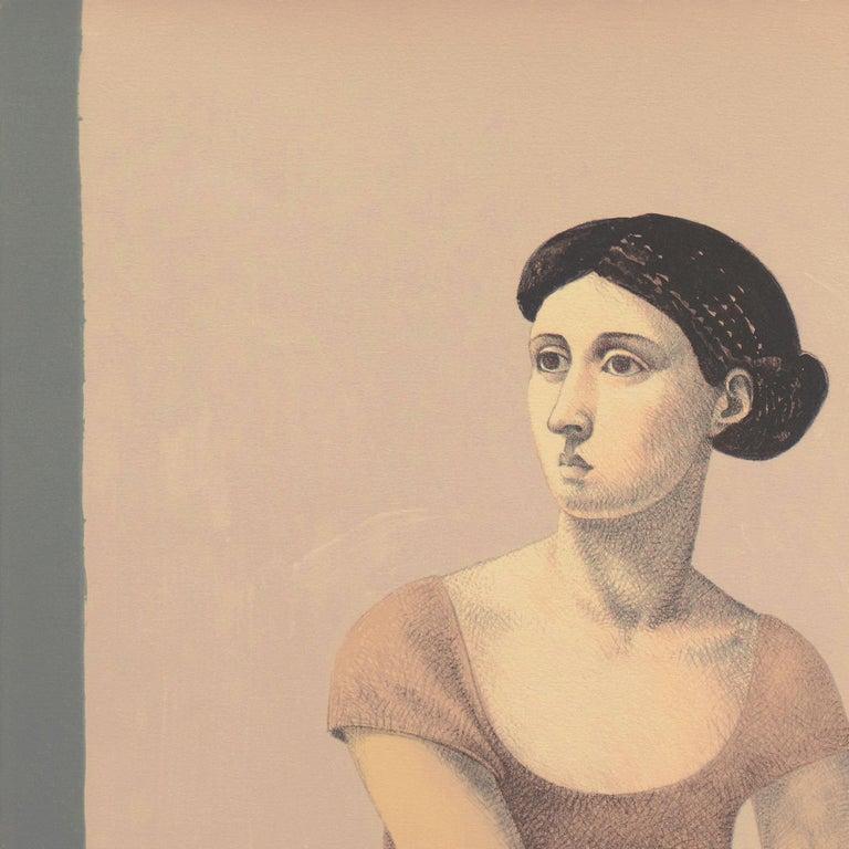 'Two Dancers', Yale, Cooper Union, Prix de Rome, Tyler School of Art, Assisi For Sale 5