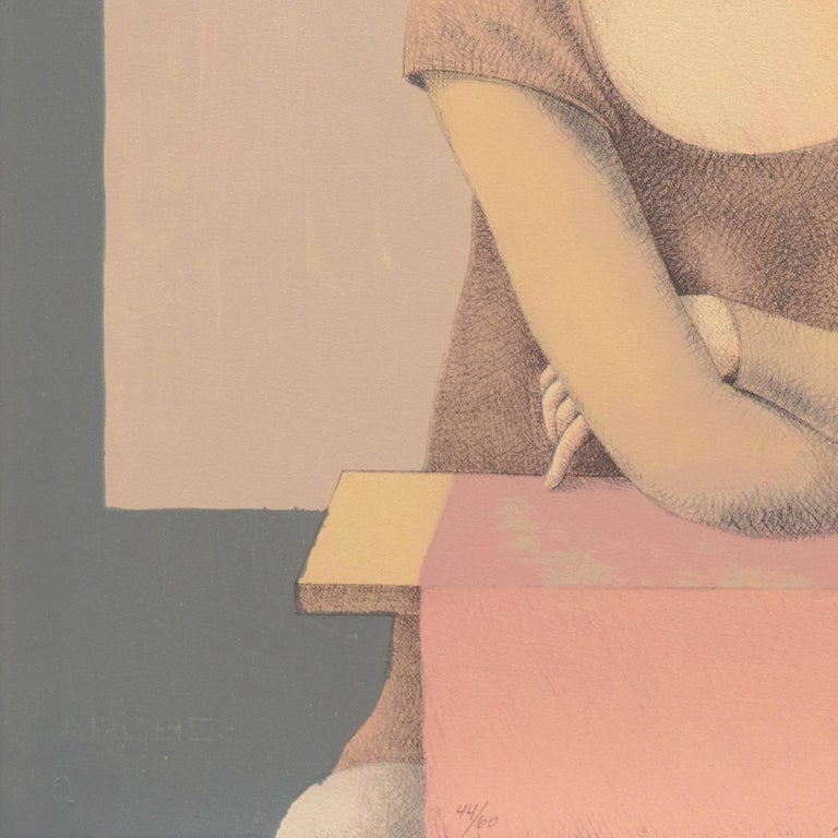 'Two Dancers', Yale, Cooper Union, Prix de Rome, Tyler School of Art, Assisi For Sale 6