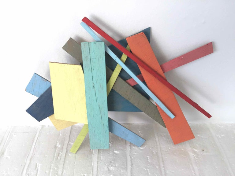 PS #21: Assemblage wall sculpture by Alan Franklin For Sale 3