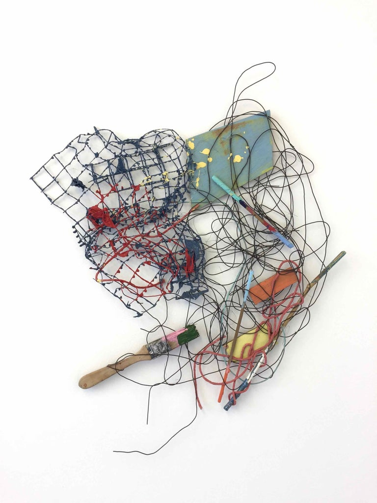 PS #31: Assemblage wall sculpture by Alan Franklin For Sale 1