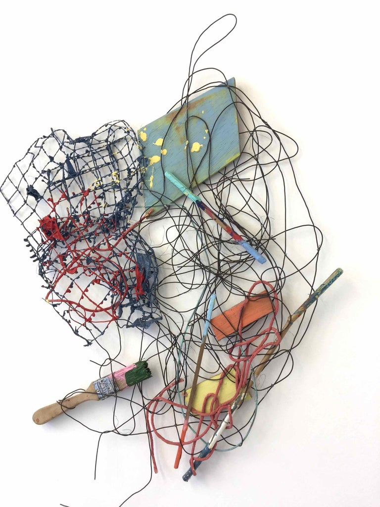 PS #31: Assemblage wall sculpture by Alan Franklin For Sale 2