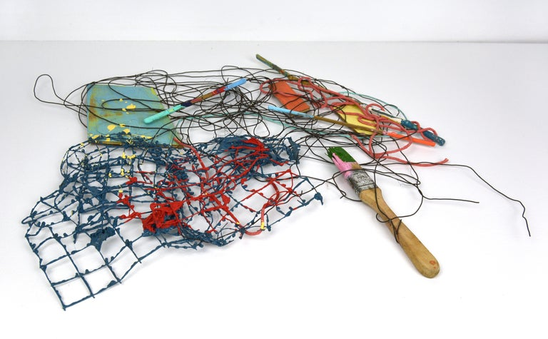 PS #31: Assemblage wall sculpture by Alan Franklin For Sale 5