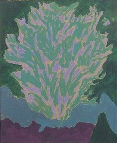 Corner Oak, Painting by Alan Gussow c. 1973