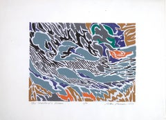 Limited Edition Print by Alan Gussow, The Mallard's Dream, 1977