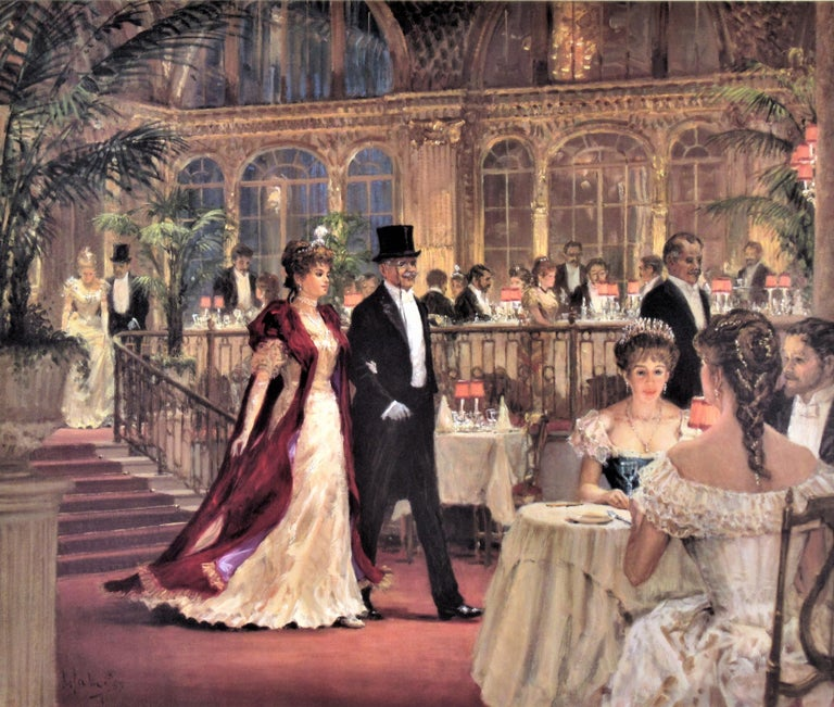 A Festive Occasion - Print by Alan Maley