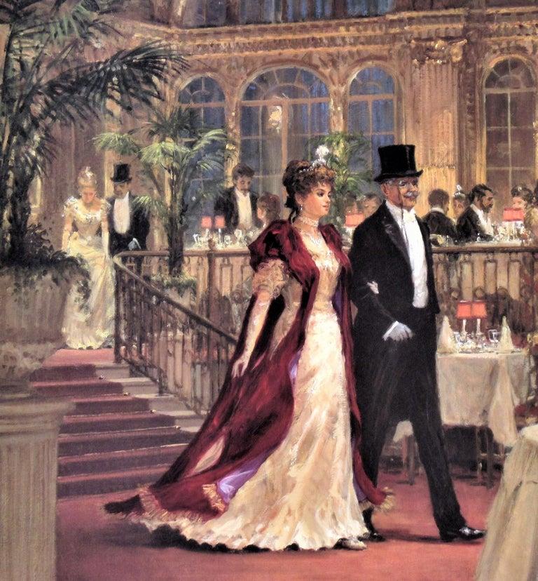 A Festive Occasion - Impressionist Print by Alan Maley