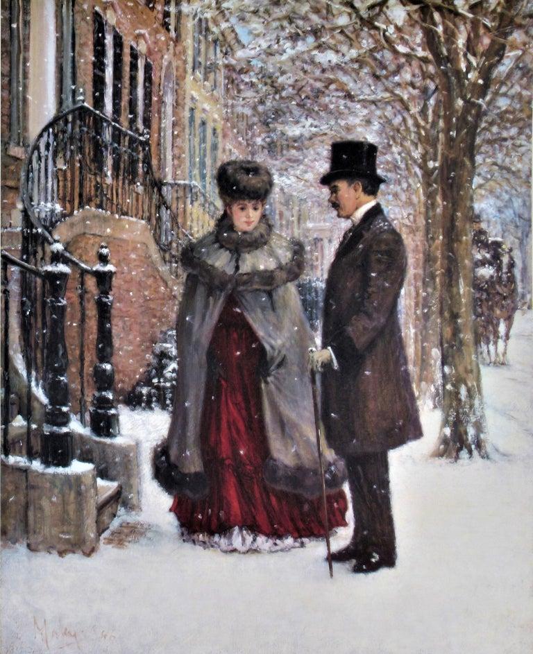 Winter Romance - Print by Alan Maley