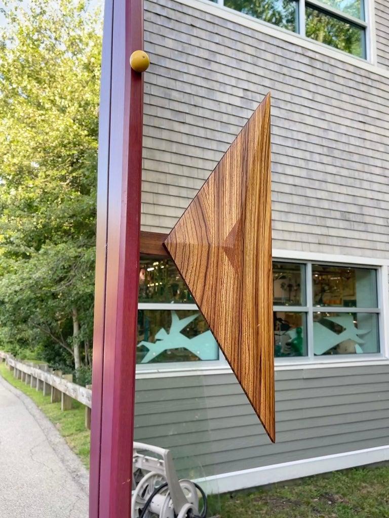 Alan S. Kushner Studio Craft Sculptural Wall Mirror For Sale 4