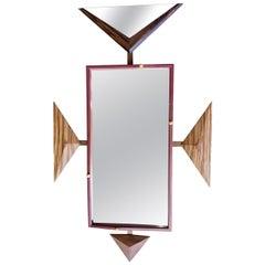 Alan S. Kushner Studio Craft Sculptural Wall Mirror